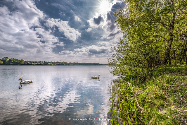 A walk by the lake / Ein Spaziergang am See