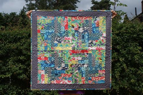 Lark Lap quilt