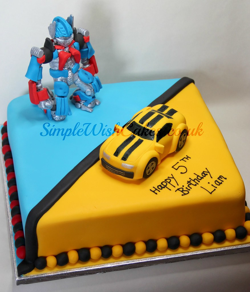 Transformers Birthday Cake | Stef and Carla Green | Flickr