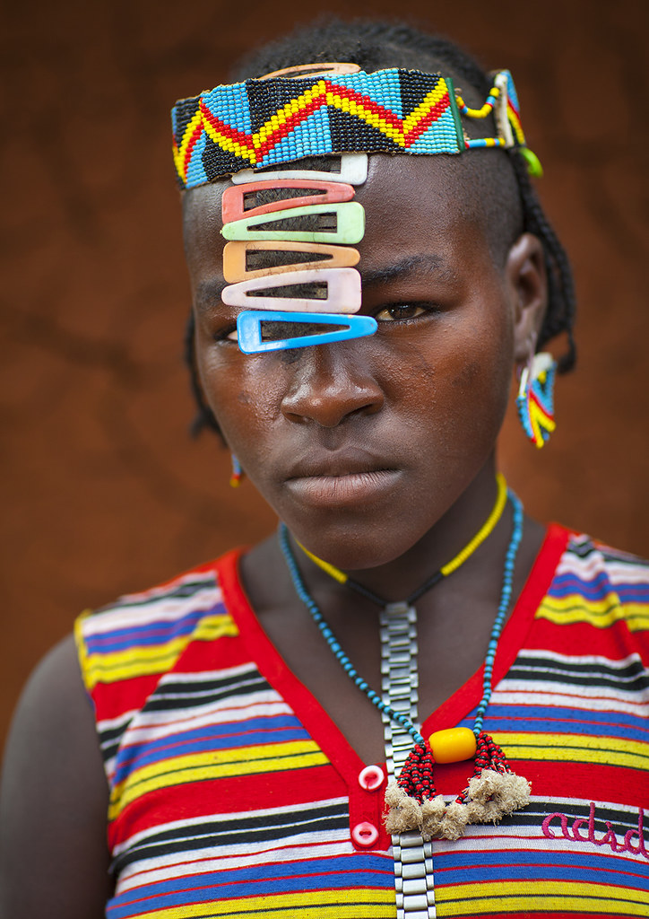 Bana Tribe Woman, Key Afer, Omo Valley, Ethiopia