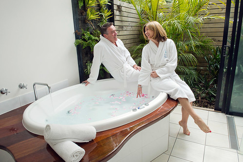 Private cottage - double spa