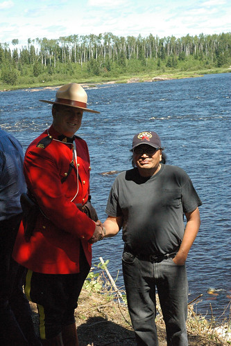 100 years of treaty Marten Falls   by Matawa First Nations Management