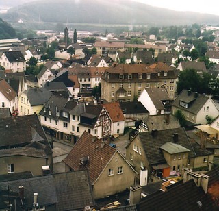 Attendorn, Germany (Film scan) 1973