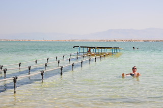 Effortlessly floating on the Dead Sea | by Jorge Lascar