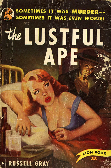Lion Books 38 - Russell Gray - The Lustful Ape