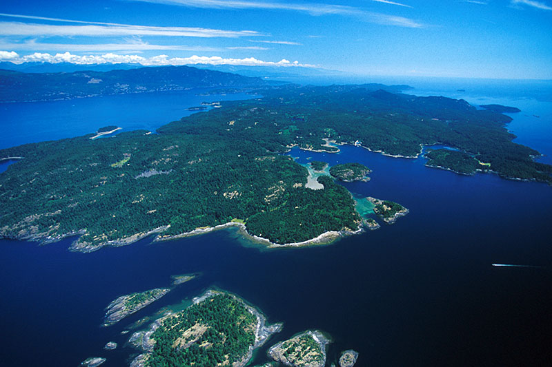 Lasqueti Island, Strait of Georgia, British Columbia, Canada
