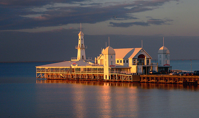 Cunningham Pier.Geelong Vic. Aust.