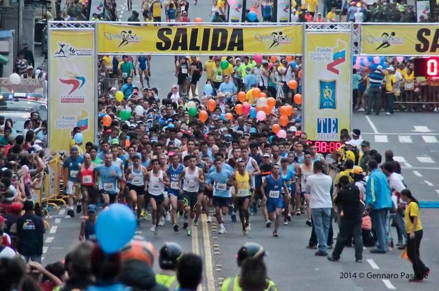 Partida de competidores 10K