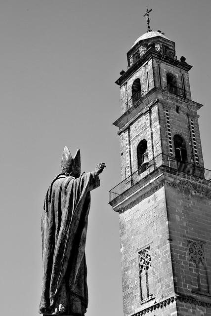 JPII & catedral de Jerez de la Frontera