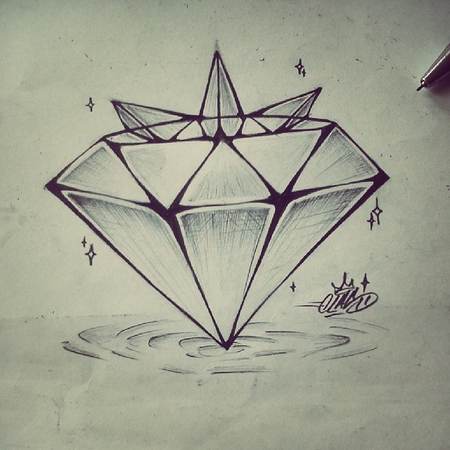 Clas #diamond #crystal #crown #shadow #bright #highlight