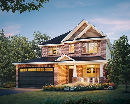 Tamarack Homes Product Line - Rendering | by Fineline Perspectives