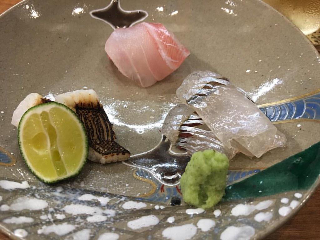 #kakookamato #sashimi #course #tastingplate #higashiyama #japanesefood #oishi #food #Japan #mytokyokyototrip2017 #aninstantonthelips