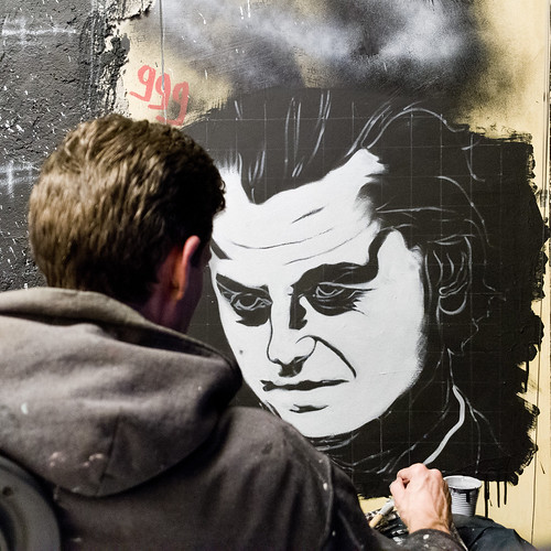 Geert Wilders, painted portrait   by Abode of Chaos