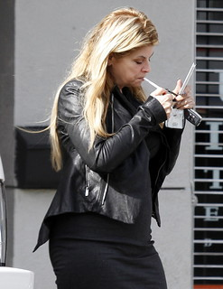 Kirstie Alley smoking 3 | by Nicholas R. Andrew