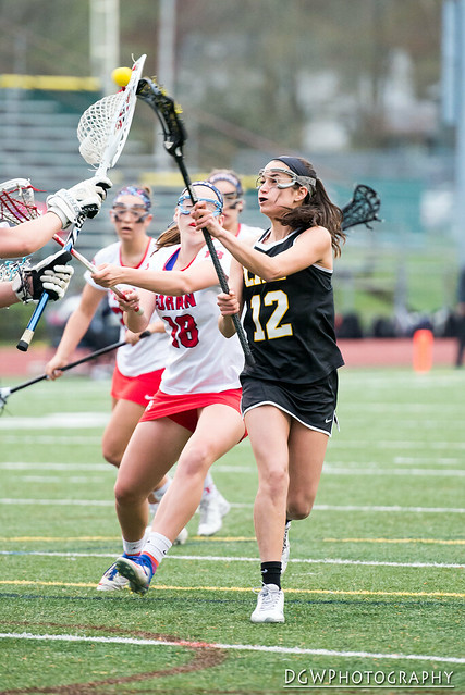 Jonathan Law vs. Foran High - High School Girls Lacrosse