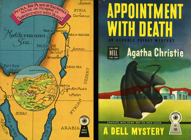 Dell Books 105 - Agatha Christie - Appointment with Death (with mapback)
