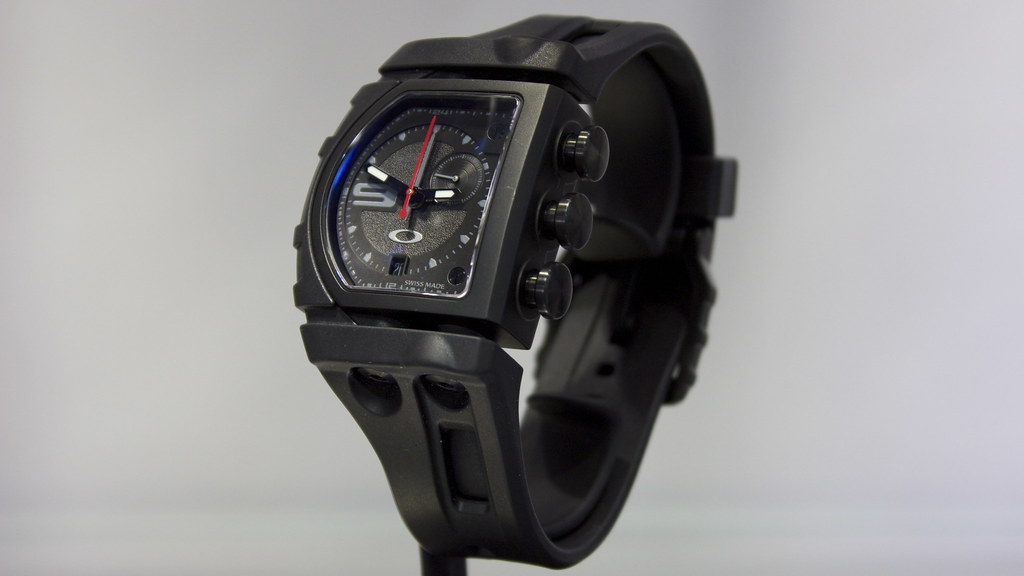 05.21.2013 | Oakley Fuse Box (Stealth) | This watch was a bi… | Flickr  Flickr