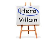 Hero Not Villain | by One Way Stock