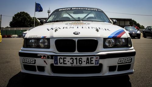 Montlhéry Trackday - 14 Juillet 2013 - BMW M3 E36 Warsteiner Photo