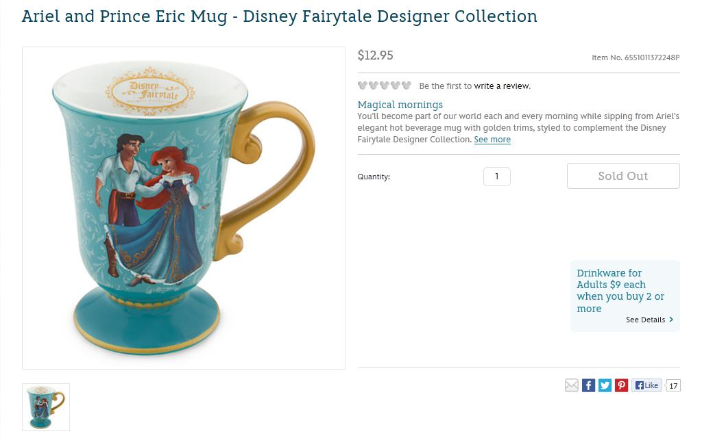 Designer Ariel Coll…Flickr And Prince Mug Eric Disney Fairytale ebDH2E9IWY