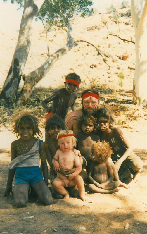Angatja - Aboriginal Cultural Exchange 1988