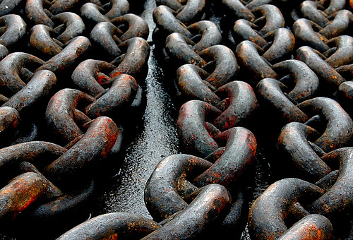 Anchor chain (cable). | by Bernard Spragg