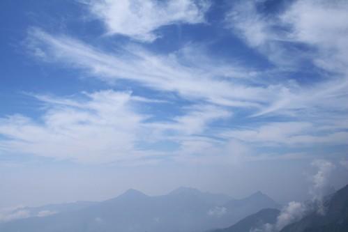 sky india mist mountains landscape tamilnadu dindigul ind