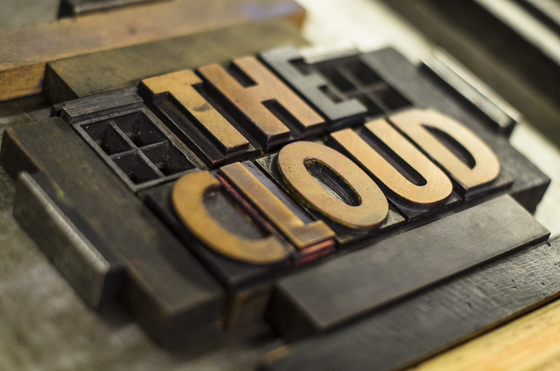 The Cloud - Welcome sign