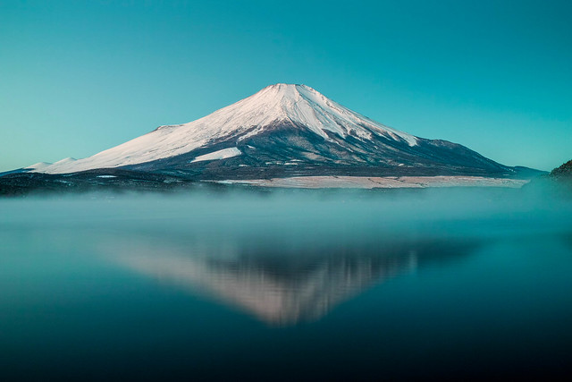 Fuji with Morning mist