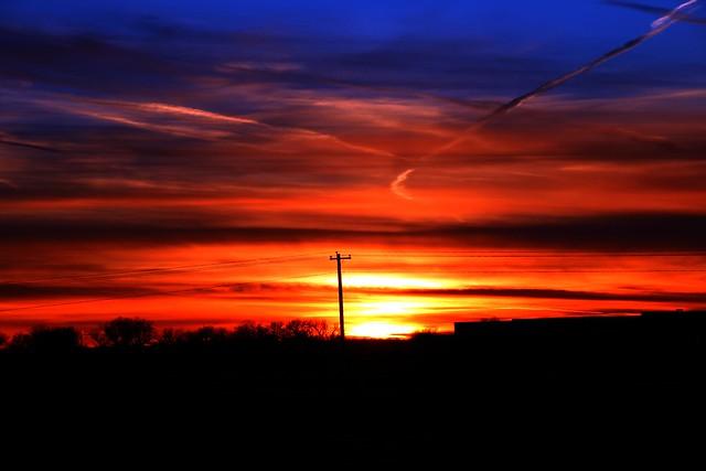010714 - Nebraska Winter Sunset
