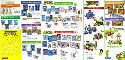 TEENAGE MUTANT NINJA TURTLES :: Collector's Guide ii (( 1993 )) by tOkKa