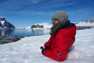 Lounging in Antarctica | by londoncyclist