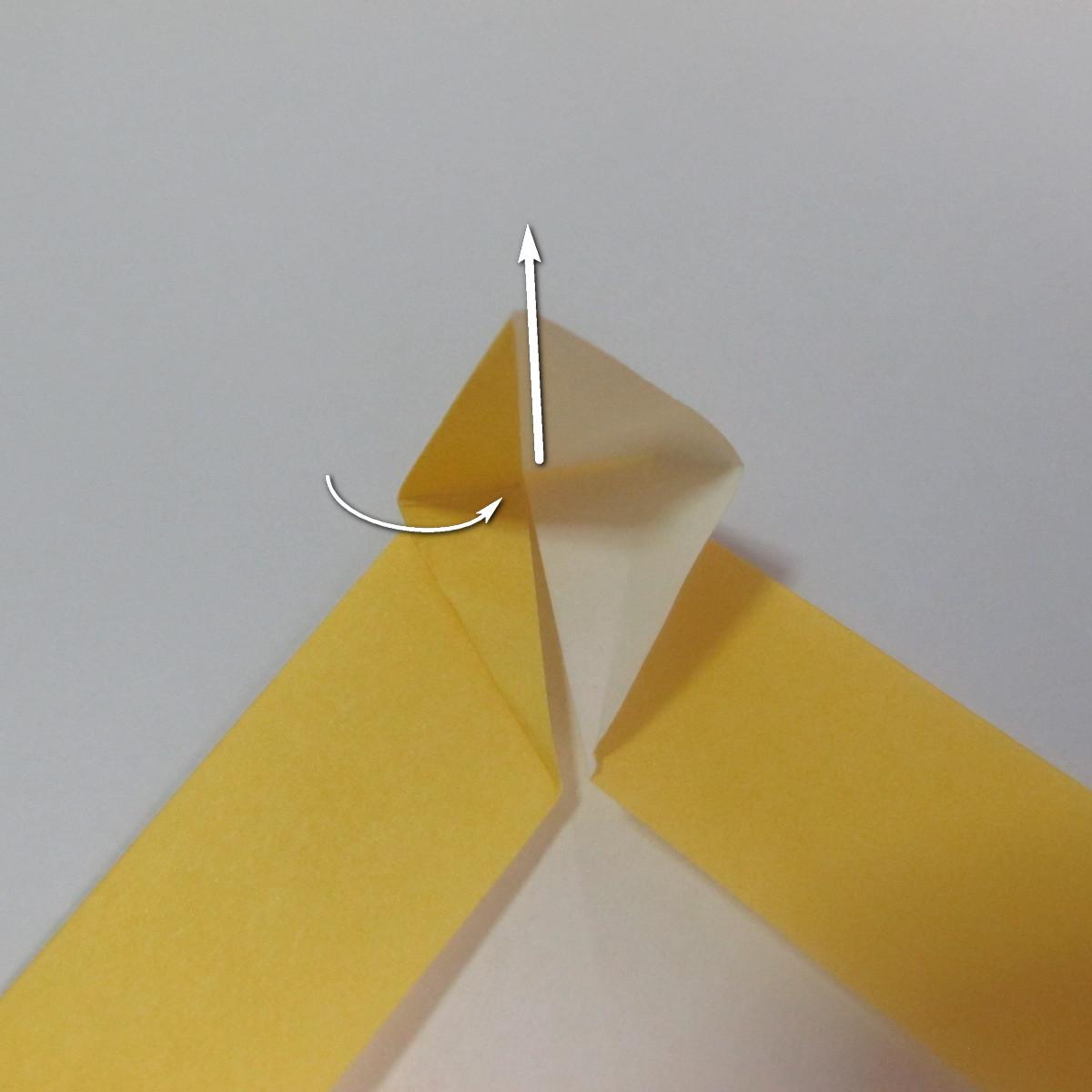 สอนวิธีพับกระดาษเป็นรูปลูกสุนัขยืนสองขา แบบของพอล ฟราสโก้ (Down Boy Dog Origami) 020