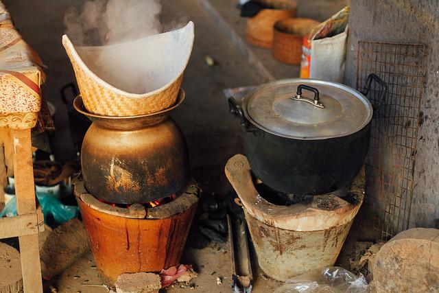 Sticky Rice Basket ຫວດ Houhat, Laos