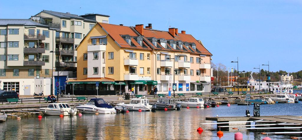 Vaxholm's harbour
