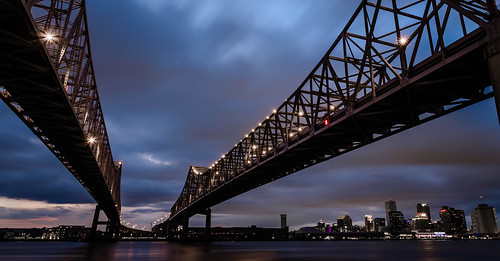fuji bluehour bridge lights city downtown 14mm wide waterfront landscape xt2 view skyline nola scape mirrorless longexposure southlouisiana vantage neworleans waterscape louisiana fujifilm sky fujixt2 colors color mississippiriver algiers sunset evening scene scenic vivid nightfall architecture cityscape clouds cloudy cloud riverfront light shore shoreline night storm fujinon14mm wideangle cantileverbridge road thebluehour fujinon bw neutraldensity bwfilter ndfilter neutraldensityfilter