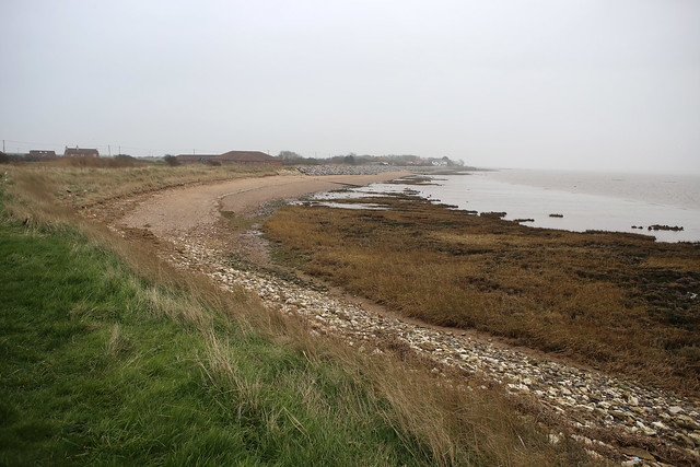 The coast near Easington