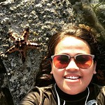Lots of #starfish here at our home tonight. Here's one hanging out with me til #sunset  #romblown in #Romblon by #TeamOsomBatch2 feat #TitaAuntMay #beach #sea #sun   AND then some #BecauseWeCan #yearofthepampam