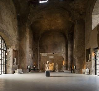 aula X delle terme di Diocleziano, Roma