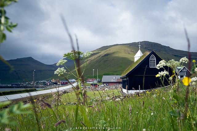 Kollafjørður church