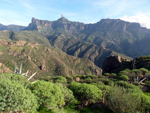 Gran Canaria - Roque Nublo As Seen from Roque Bentayga in the Winter | by elsua