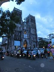 Christliche Hinterlassenschaften der Franzosen - St. Josephs Cathedral - Hanoi