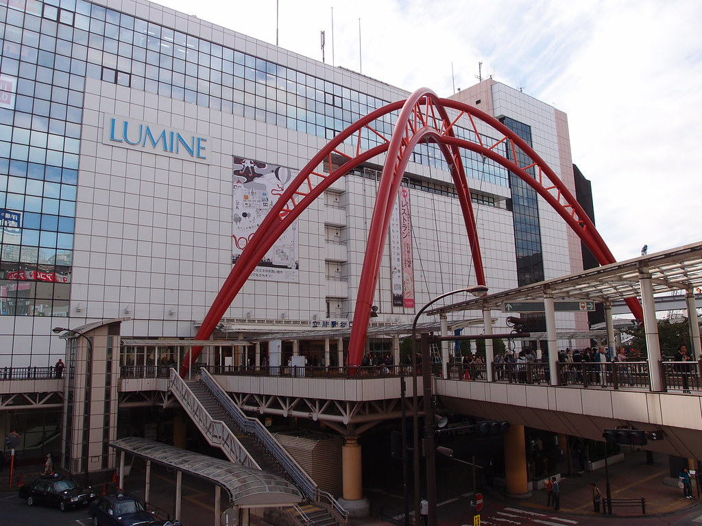 Lumine department store @ Tachikawa Station