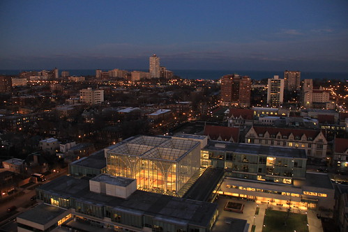 Booth School of Business from above | by Catarina Oberlander