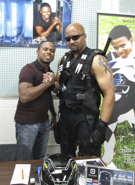 Blade and The Black Power Ranger