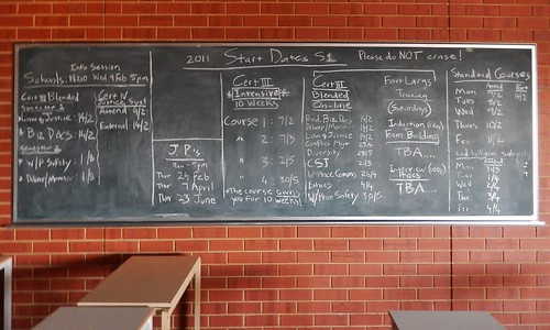 Good Old Fashioned Blackboard | by mikecogh