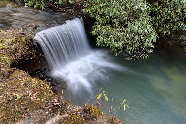 Patience Falls, Mill Creek, Fentress County, Tennessee