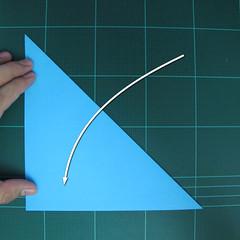 การพับกระดาษเป็นรูปตัวเม่นแคระ (Origami Hedgehog) 003