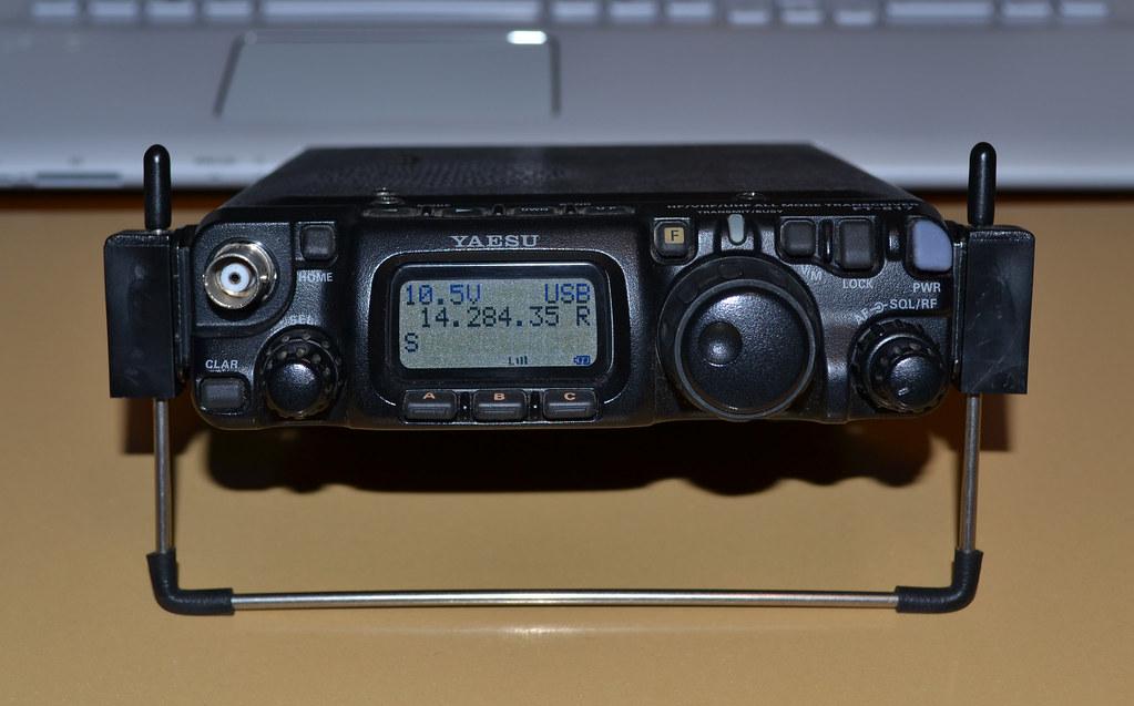 YAESU FT-817ND QRP HF VHF UHF MULTIMODE PORTABLE TRANSCEIV
