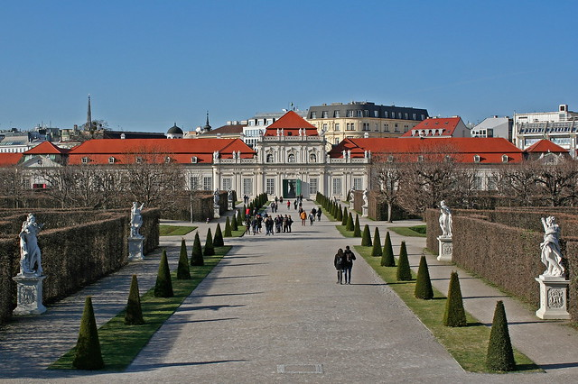 The Lower Belvedere in Vienna